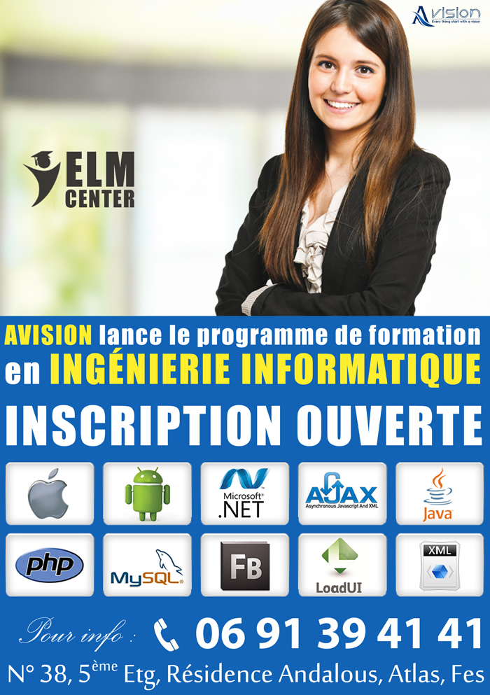 Formation informatique rabat